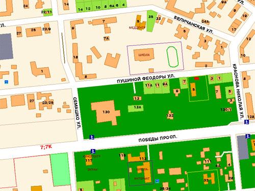Месторасположение (карта)