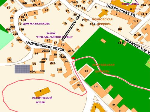 памятника (карта)
